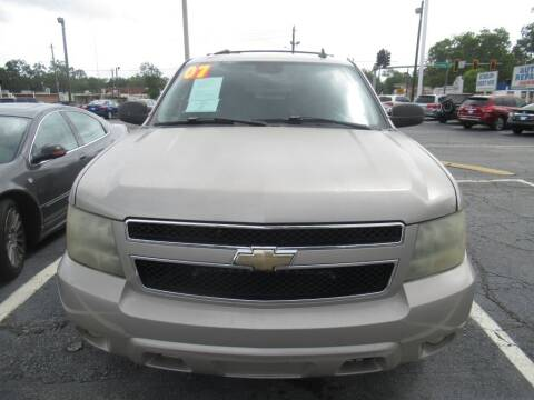 2007 Chevrolet Tahoe for sale at Maluda Auto Sales in Valdosta GA