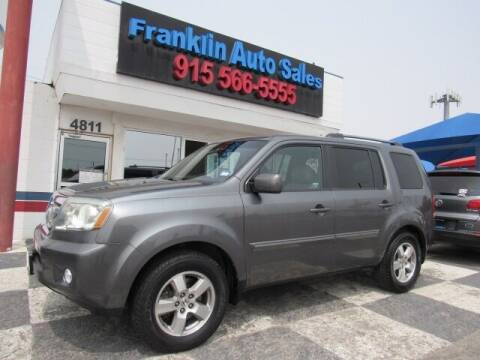 2011 Honda Pilot for sale at Franklin Auto Sales in El Paso TX