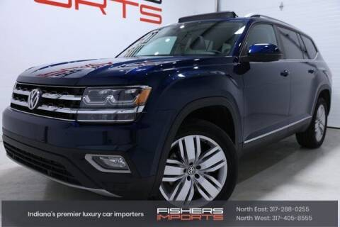 2019 Volkswagen Atlas for sale at Fishers Imports in Fishers IN