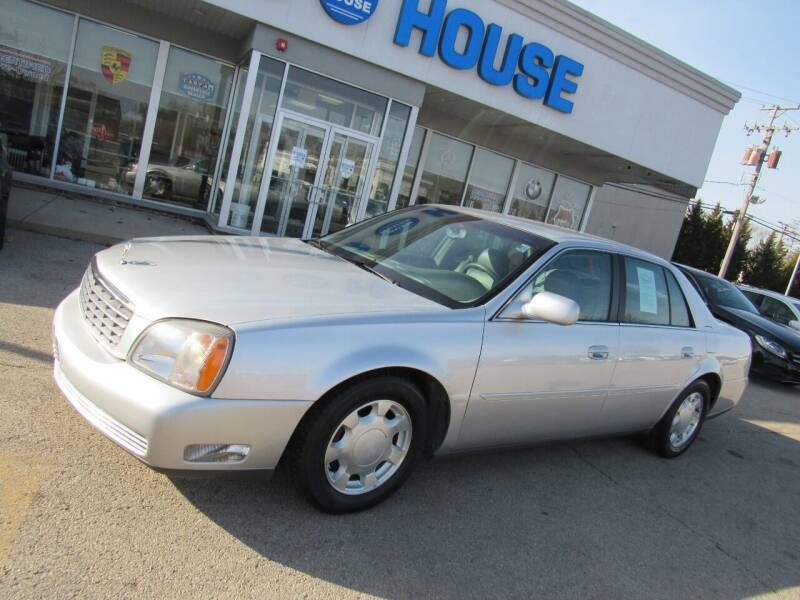 2001 Cadillac DeVille for sale at Auto House Motors in Downers Grove IL