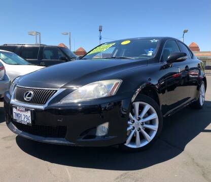 2010 Lexus IS 250 for sale at LUGO AUTO GROUP in Sacramento CA