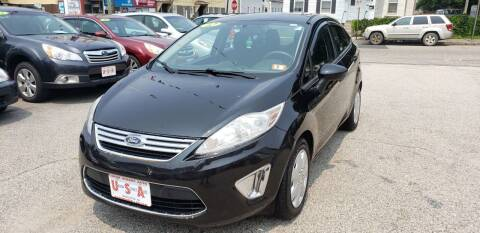 2012 Ford Fiesta for sale at Union Street Auto in Manchester NH