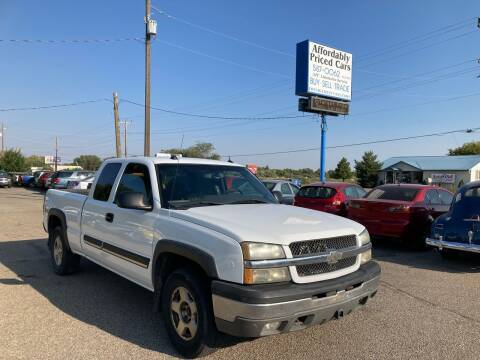 2004 Chevrolet Silverado 1500 for sale at AFFORDABLY PRICED CARS LLC in Mountain Home ID