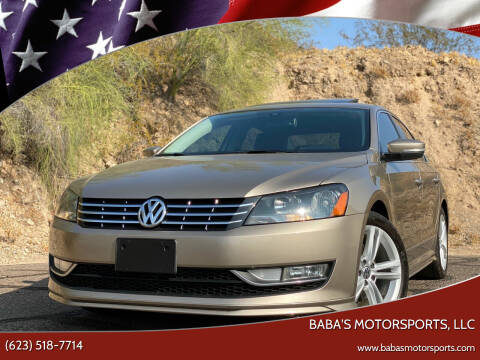 2015 Volkswagen Passat for sale at Baba's Motorsports, LLC in Phoenix AZ