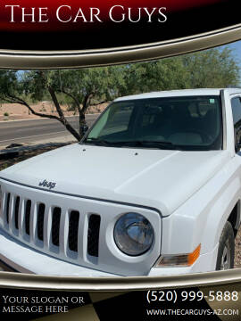 2017 Jeep Patriot for sale at The Car Guys in Tucson AZ