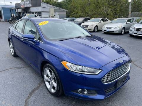 2016 Ford Fusion for sale at LexTown Motors in Lexington KY