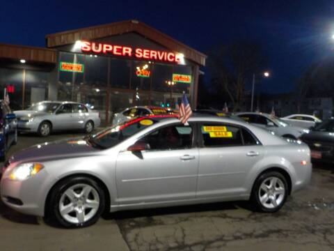 2012 Chevrolet Malibu for sale at Super Service Used Cars in Milwaukee WI