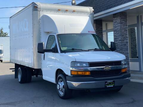 2015 Chevrolet ExpressBoxTruckCargoVan for sale at Lux Motors in Tacoma WA