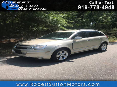 2014 Chevrolet Captiva Sport for sale at Robert Sutton Motors in Goldsboro NC