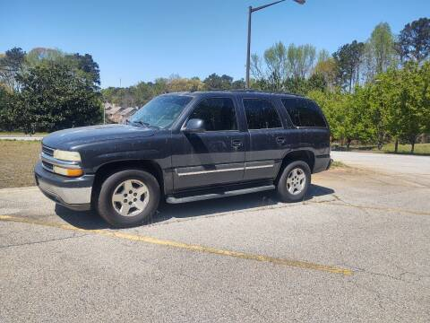 2005 Chevrolet Tahoe for sale at WIGGLES AUTO SALES INC in Mableton GA
