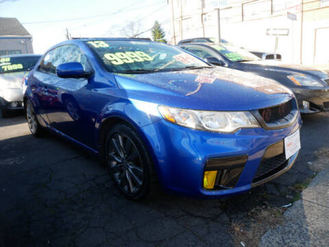 2013 Kia Forte Koup for sale at M & R Auto Sales INC. in North Plainfield NJ