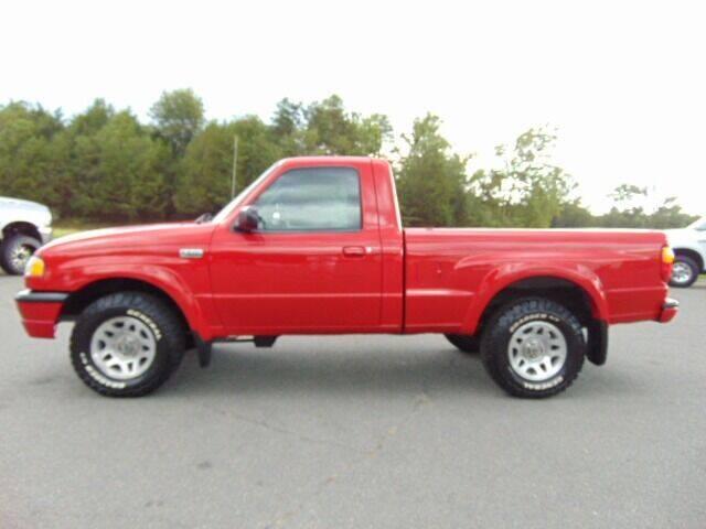 2004 Mazda B-Series Truck for sale at E & M AUTO SALES in Locust Grove VA