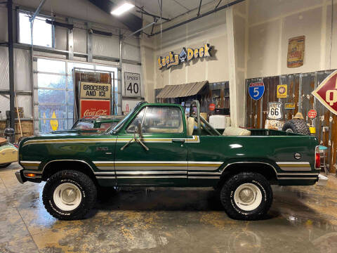 1977 Plymouth Trailduster for sale at Cool Classic Rides in Redmond OR