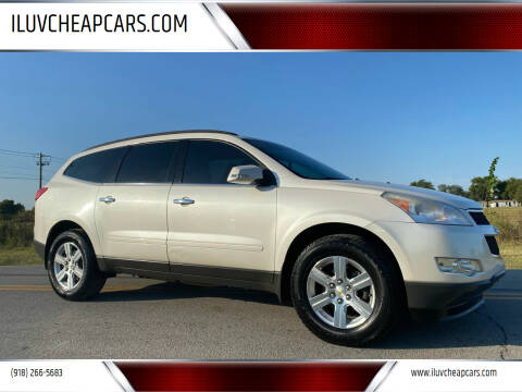 2012 Chevrolet Traverse for sale at ILUVCHEAPCARS.COM in Tulsa OK