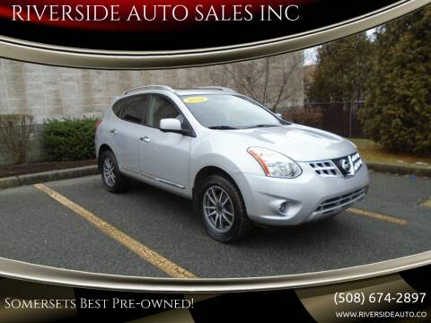 2012 Nissan Rogue for sale at RIVERSIDE AUTO SALES INC in Somerset MA