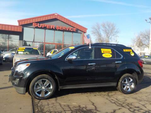 2014 Chevrolet Equinox for sale at Super Service Used Cars in Milwaukee WI