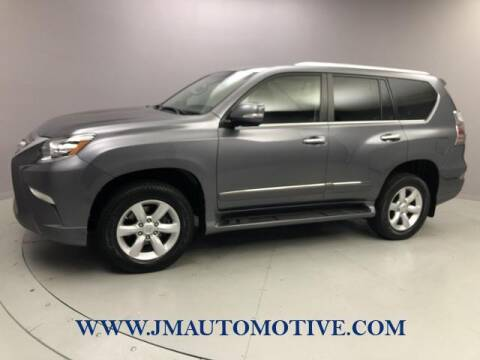 2015 Lexus GX 460 for sale at J & M Automotive in Naugatuck CT