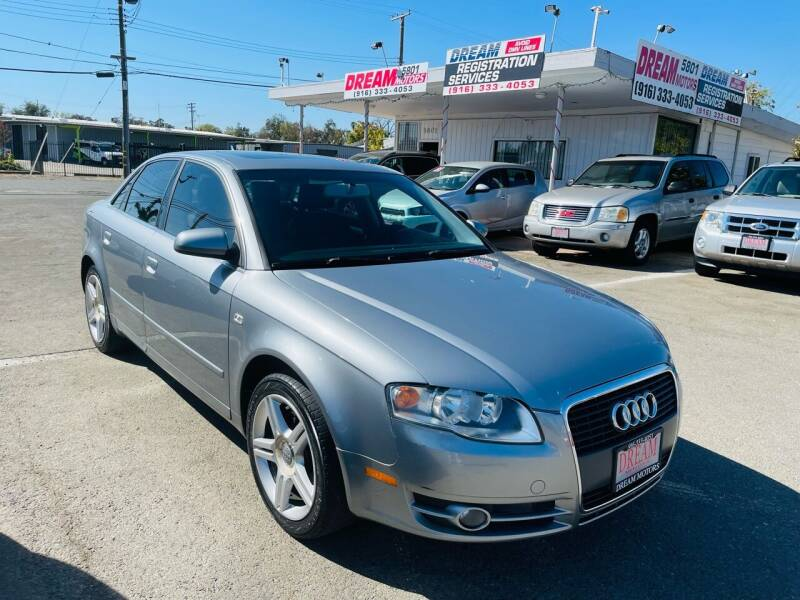 2007 Audi A4 for sale at Dream Motors in Sacramento CA