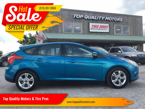 2014 Ford Focus for sale at Top Quality Motors & Tire Pros in Ashland MO