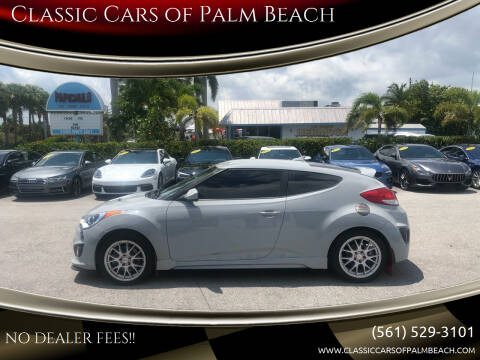 2015 Hyundai Veloster for sale at Classic Cars of Palm Beach in Jupiter FL