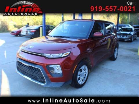 2020 Kia Soul for sale at Inline Auto Sales in Fuquay Varina NC