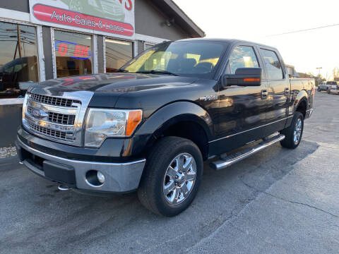 2013 Ford F-150 for sale at Martins Auto Sales in Shelbyville KY