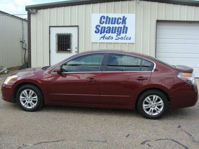 2009 Nissan Altima for sale at Chuck Spaugh Auto Sales in Lubbock TX