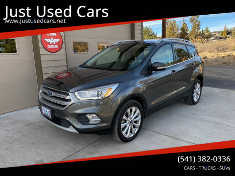2017 Ford Escape for sale at Just Used Cars in Bend OR