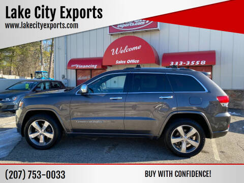 2014 Jeep Grand Cherokee for sale at Lake City Exports in Auburn ME