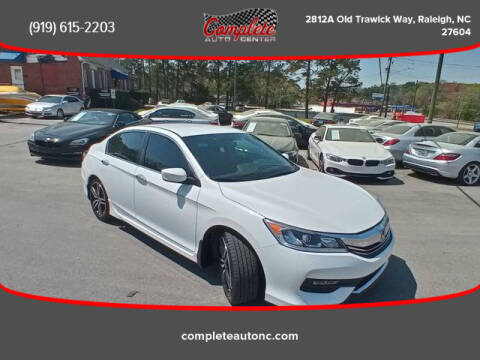 2017 Honda Accord for sale at Complete Auto Center , Inc in Raleigh NC
