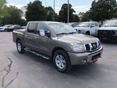 2006 Nissan Titan for sale at WILLIAMS AUTO SALES in Green Bay WI