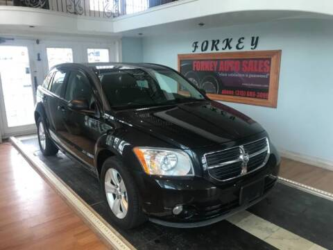 2011 Dodge Caliber for sale at Forkey Auto & Trailer Sales in La Fargeville NY