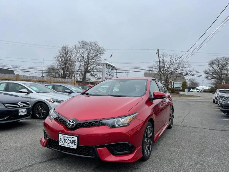 2017 Toyota Corolla iM for sale at Auto Cape in Hyannis MA