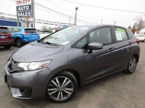 2015 Honda Fit for sale at TRI CITY AUTO SALES LLC in Menasha WI