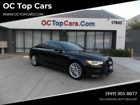 2012 Audi A6 for sale at OC Top Cars in Irvine CA