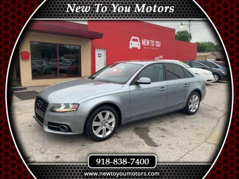 2011 Audi A4 for sale at New To You Motors in Tulsa OK