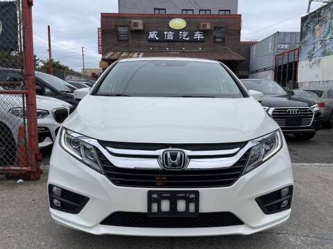 2019 Honda Odyssey for sale at TJ AUTO in Brooklyn NY