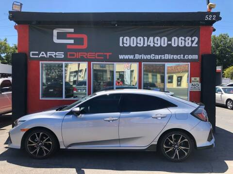 2017 Honda Civic for sale at Cars Direct in Ontario CA