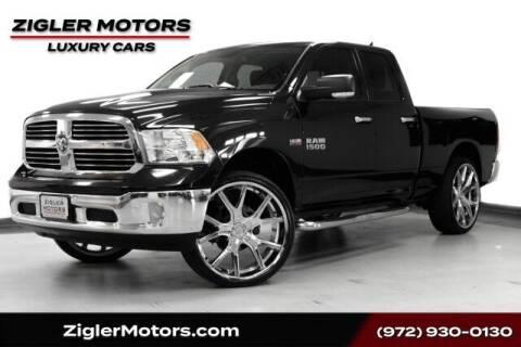 2018 RAM Ram Pickup 1500 for sale at Zigler Motors in Addison TX