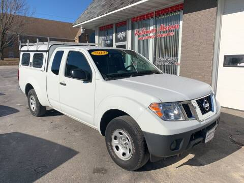 2014 Nissan Frontier for sale at KUHLMAN MOTORS in Maquoketa IA