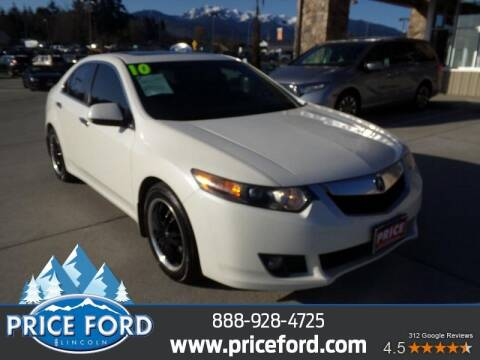 2010 Acura TSX for sale at Price Ford Lincoln in Port Angeles WA