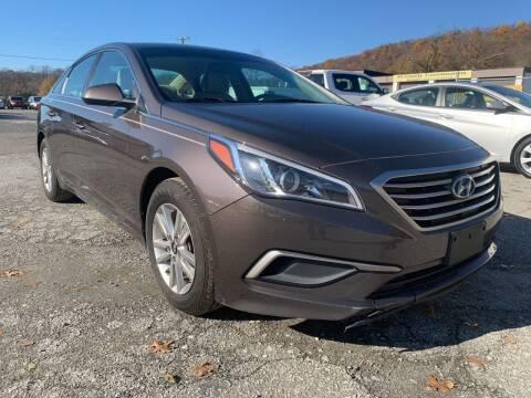 2016 Hyundai Sonata for sale at Ron Motor Inc. in Wantage NJ