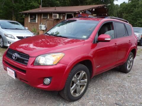 2010 Toyota RAV4 for sale at Select Cars Of Thornburg in Fredericksburg VA