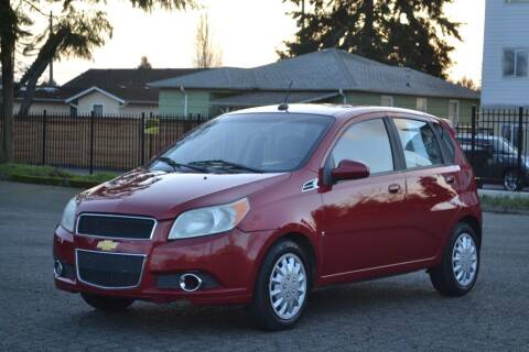 2009 Chevrolet Aveo for sale at Skyline Motors Auto Sales in Tacoma WA