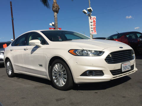 2014 Ford Fusion Energi for sale at CARSTER in Huntington Beach CA