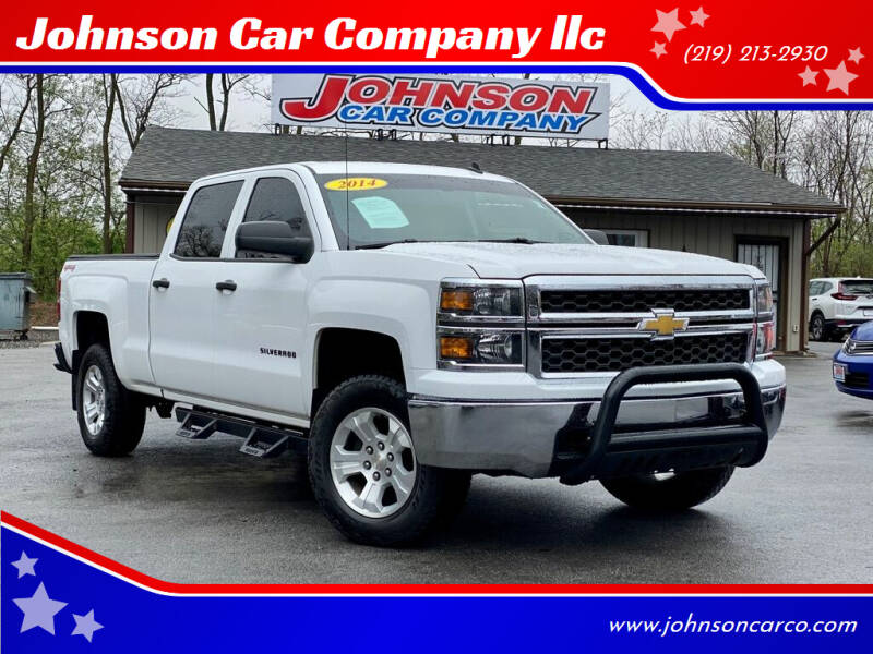 2014 Chevrolet Silverado 1500 for sale at Johnson Car Company llc in Crown Point IN