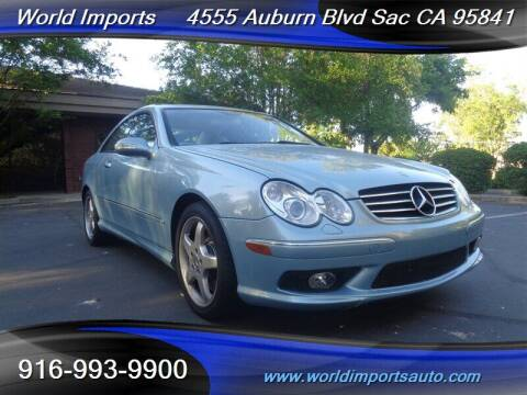 2004 Mercedes-Benz CLK for sale at World Imports in Sacramento CA