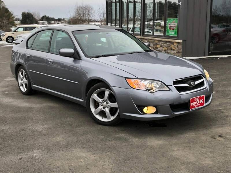 2008 Subaru Legacy for sale at eurO-K in Benton ME