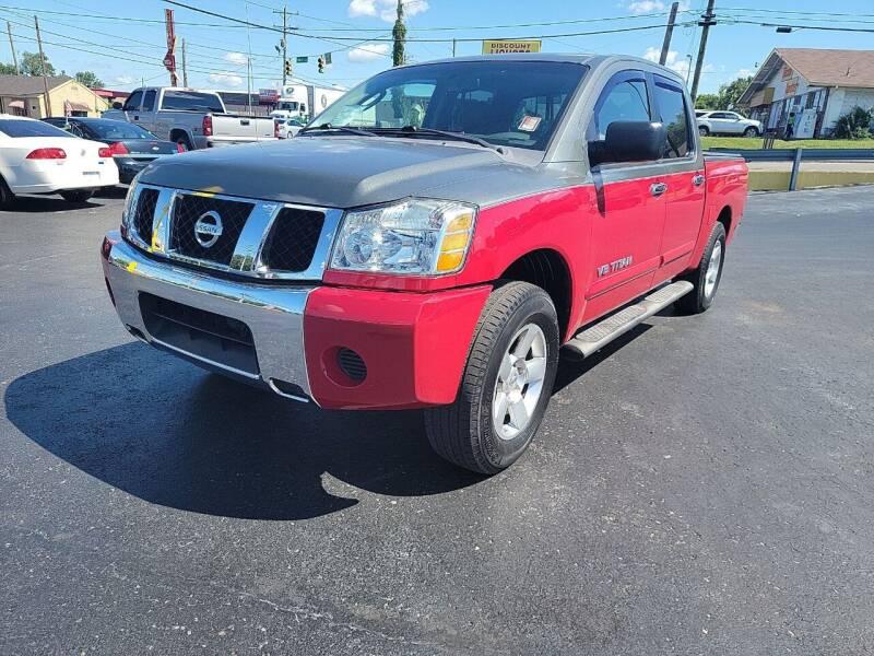 2007 Nissan Titan for sale at Rucker's Auto Sales Inc. in Nashville TN
