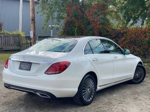 2015 Mercedes-Benz C-Class for sale at Best Cars Auto Sales in Everett MA